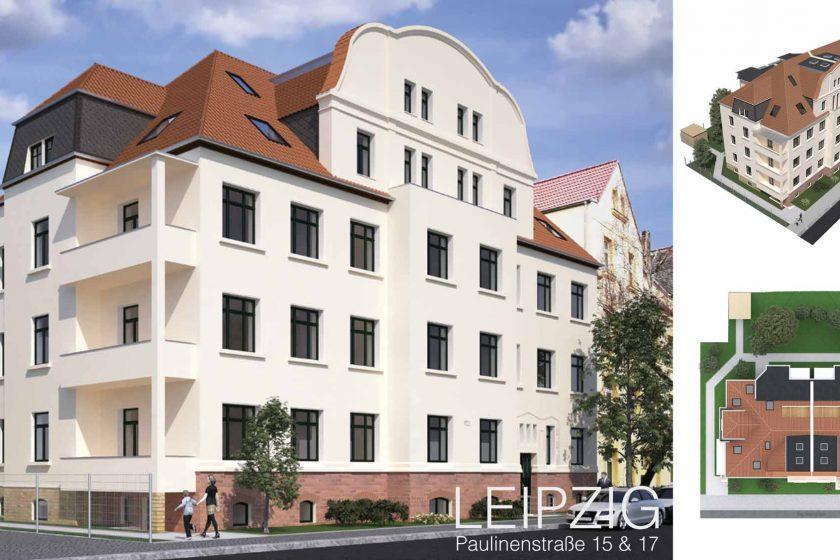 Denkmalimmobilie Leipzig Paulinenstraße 1